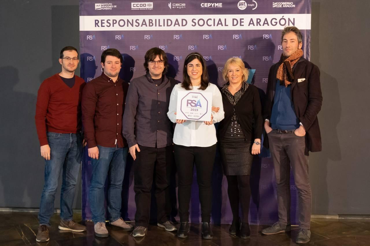 Pensumo receives the RSA seal of social responsibility