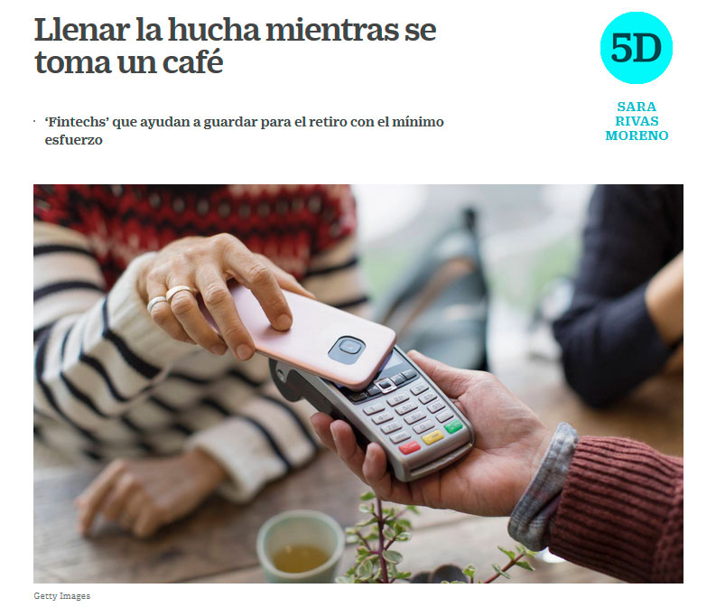 Compared savings solutions in El País