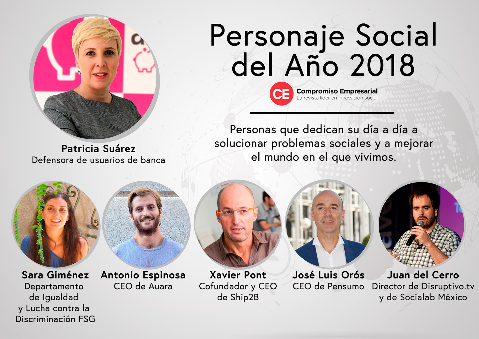 CEO of Pensumo finalist of the Awards 'Social Person of the Year 2018'