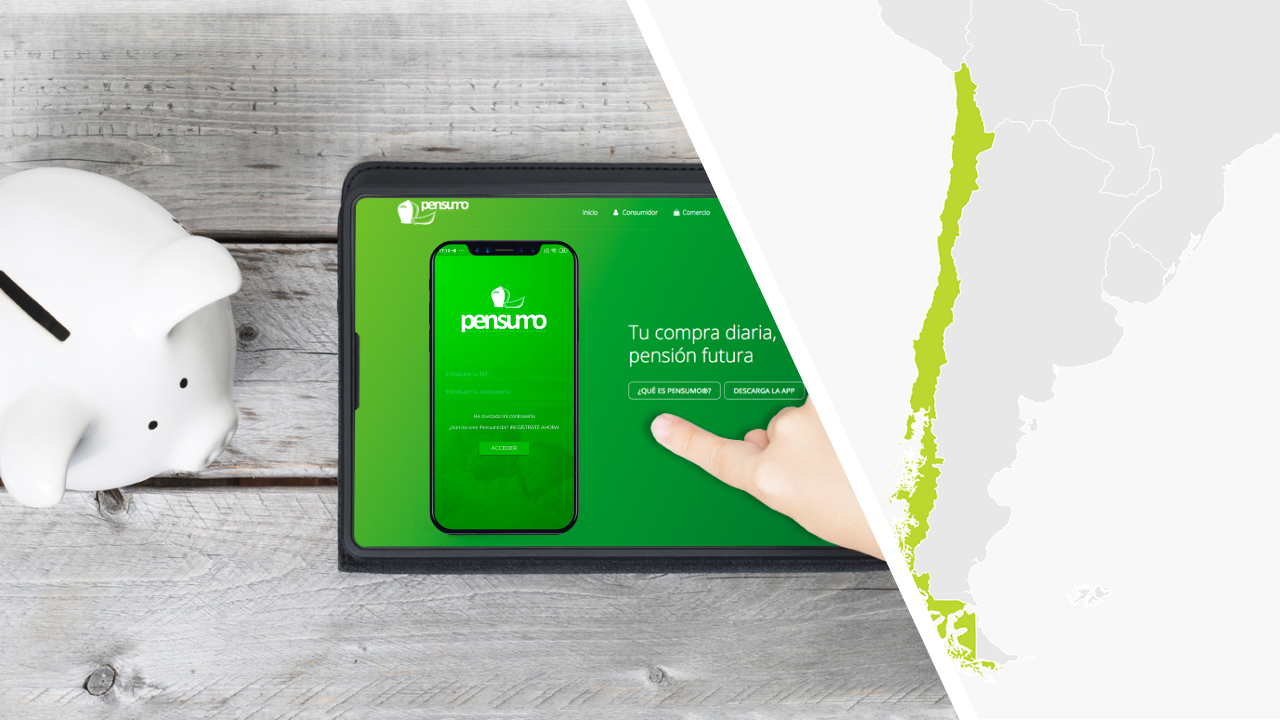Pensumo is the front page of the Financial Newspaper of Chile